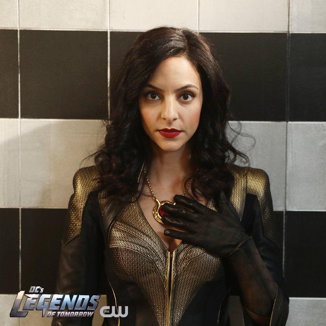 Zari Tomaz (Tala Ashe) en DC's Legends of Tomorrow. Imagen: pinterest.com