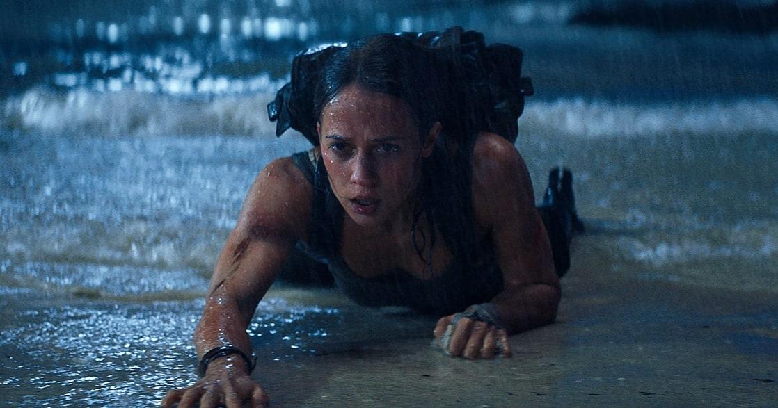 Alicia Vikander como Lara Croft en Tomb Raider (2018). Imagen: listal.com