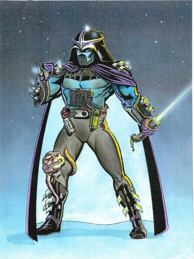 Darth Shredder en arte conceptual del crossover Star Wars/Teenage Mutant Ninja Turtles por Michael Dooney. Imagen: Alan Johnson Twitter (@TheAlanJohnson).