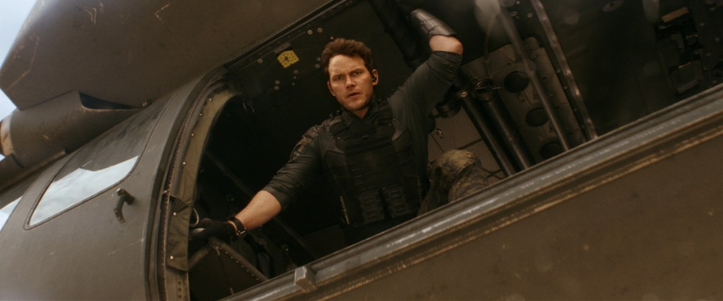Dan Forester (Chris Pratt) en The Tomorrow War (2021). Imagen: TheTomorrowWar Twitter (@TheTomorrowWar).