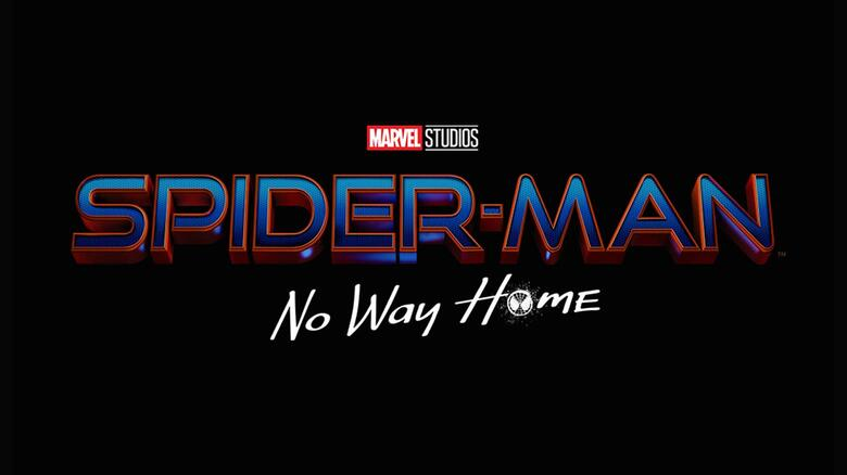 Logotipo de Spider-Man: No Way Home (2021). Imagen: Marvel.com