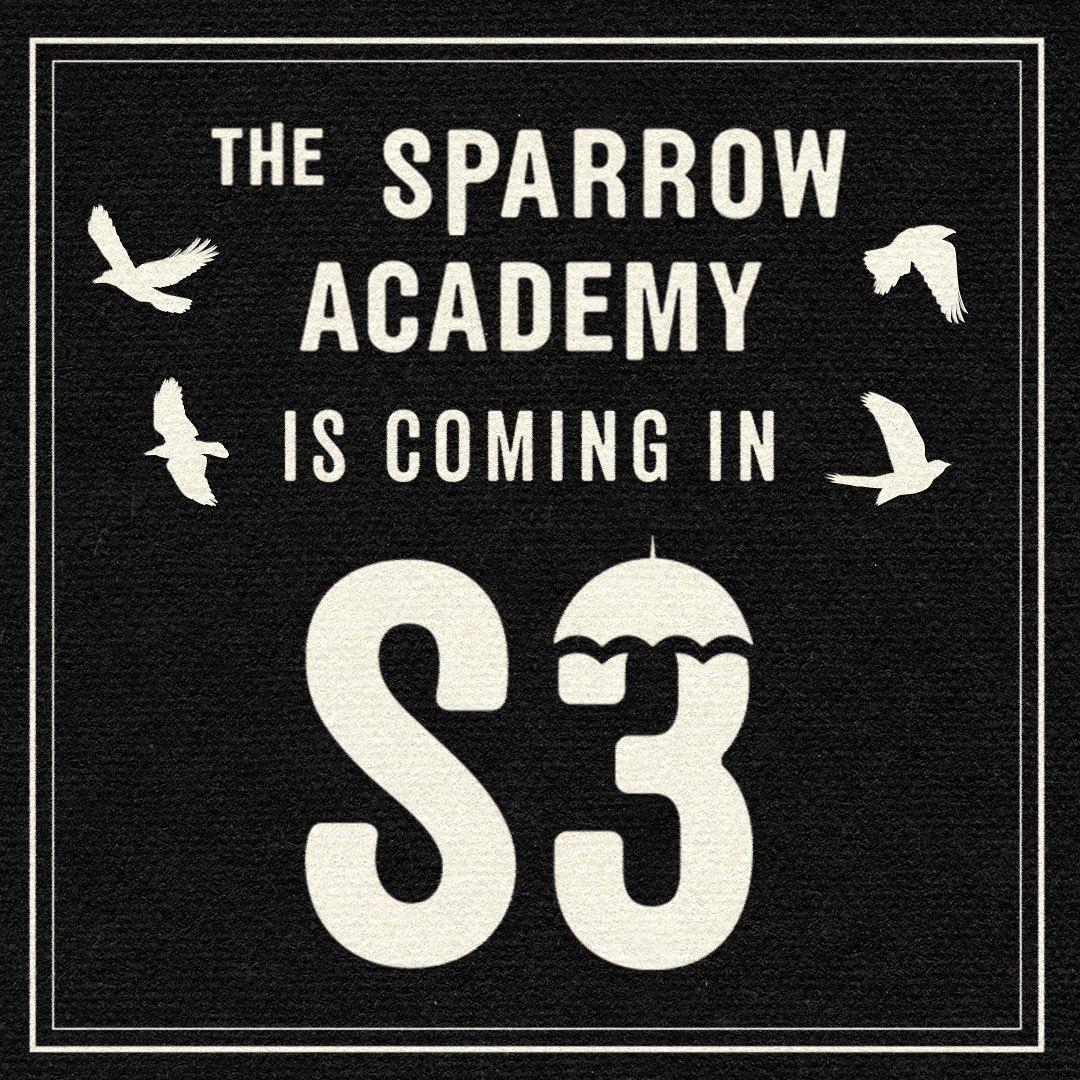 The Sparrow Academy estará en la temporada 3 de The Umbrella Academy. Imagen: The Umbrella Academy Instagram (@umbrellaacad).