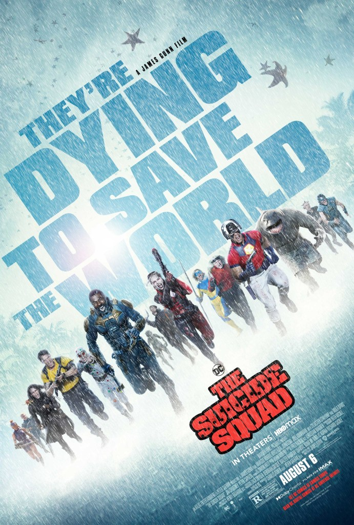 Póster de The Suicide Squad (2021). Imagen: impawards.com