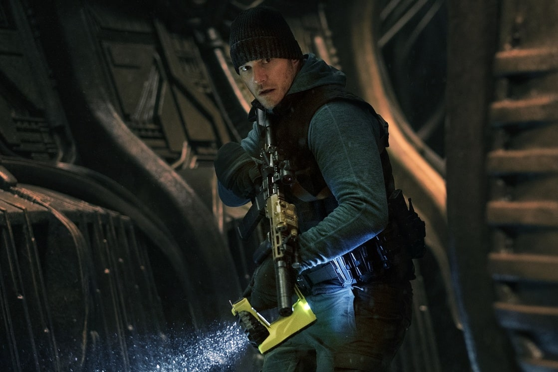 Dan Forester (Chris Pratt) en The Tomorrow War (2021). Imagen: listal.com