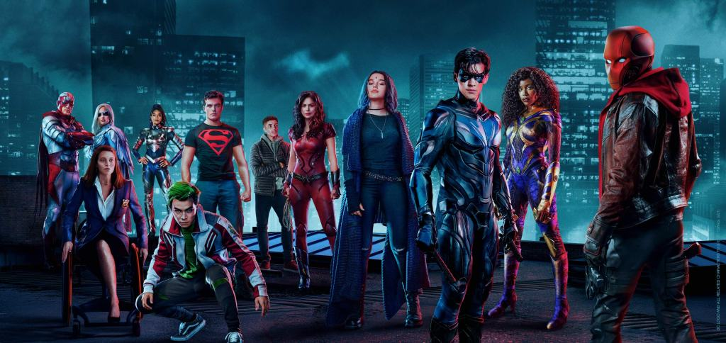Los personajes principales de la temporada 3 de Titans. Imagen: dccomics.com