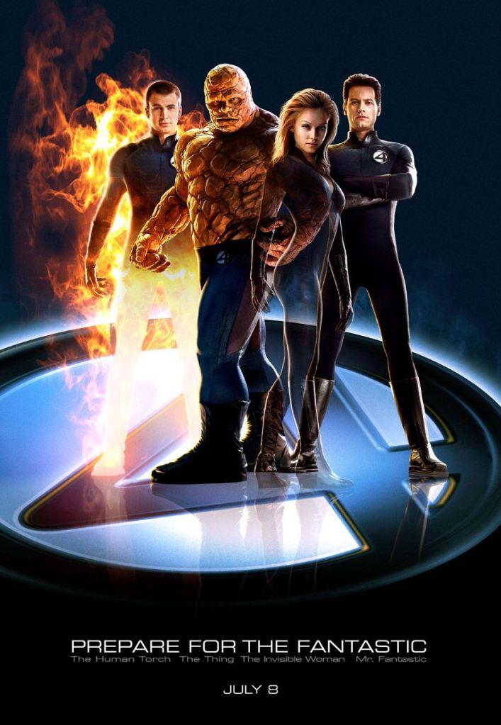 Póster de Fantastic Four (2005). Imagen: impawards.com