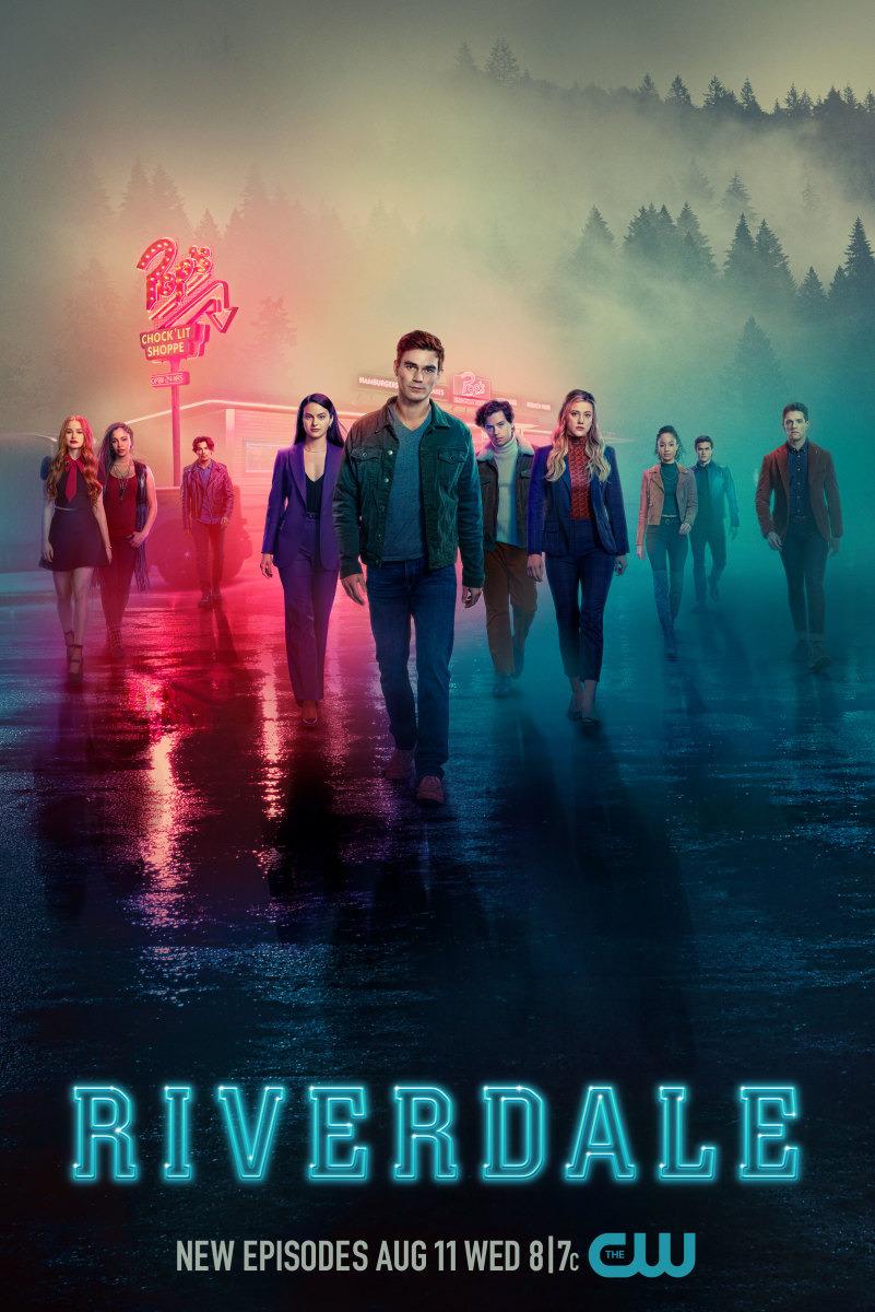 Póster de los nuevos episodios de la temporada 5 de Riverdale en The CW. Imagen: impawards.com