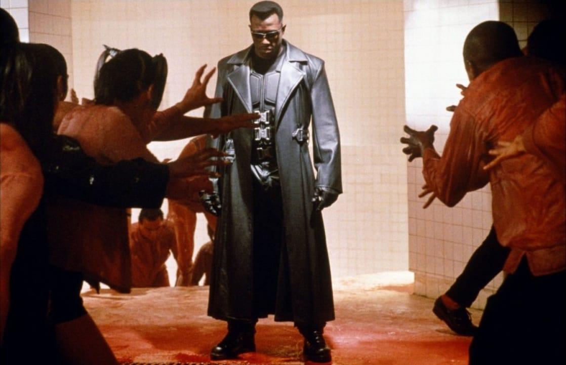 Blade/Eric Brooks (Wesley Snipes) en Blade (1998). Imagen: listal.com