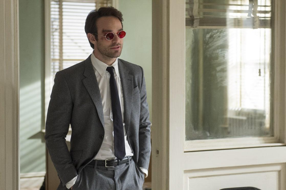 Matt Murdock (Charlie Cox) en un episodio de Daredevil (2015-2018). Imagen: listal.com
