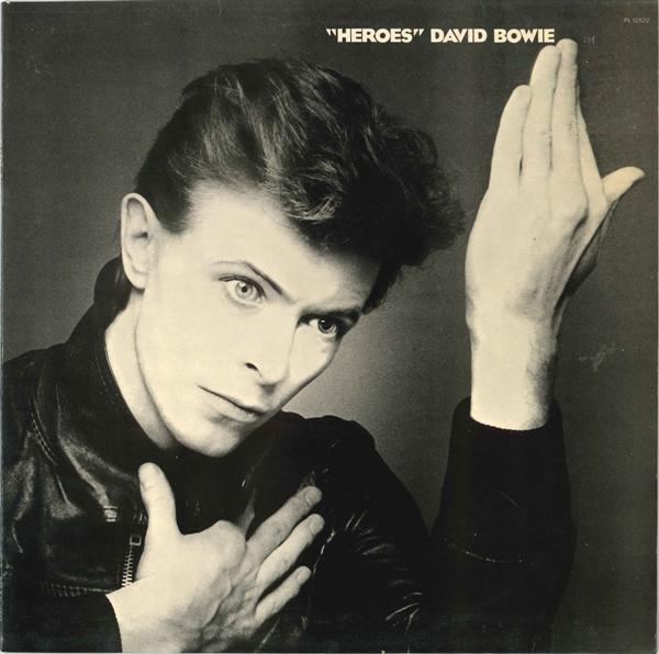 Portada de Heroes (1977), el doceavo disco de David Bowie (1947-2016). Imagen: discogs.com