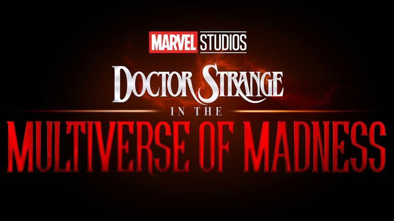 El logotipo de  Doctor Strange in the Multiverse of Madness (2022). Imagen: Marvel.com