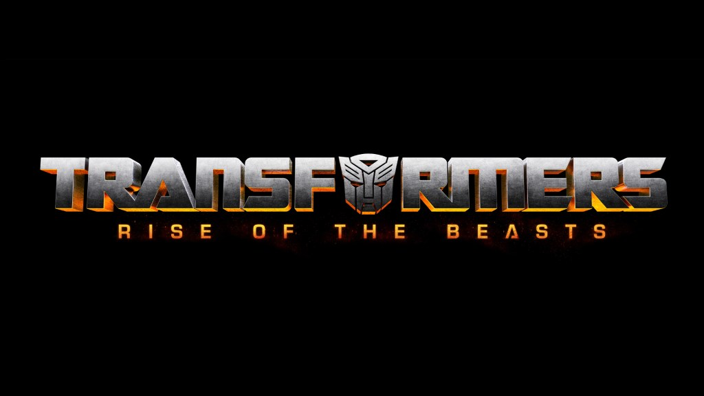 El logotipo de Transformers: Rise of the Beasts (2022). Imagen: Paramount Pictures