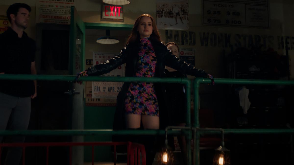 Madelaine Petsch como Cheryl Blossom en el episopdio 519 de Riverdale. Imagen: The CW