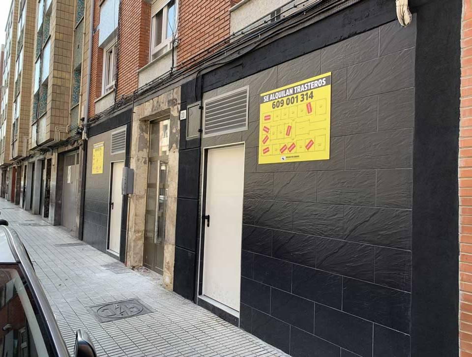 adecuación de locales para trasteros en Gijón