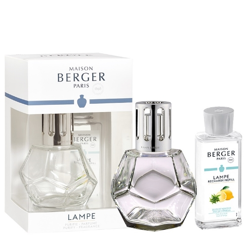 Lampe Berger Giftset Geometry Clear