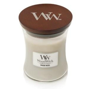WoodWick Geurkaars Warm Wool Medium