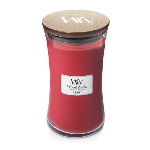 WoodWick Geurkaars Currant Large