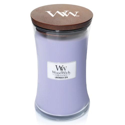 WoodWick Geurkaars Lavender Spa Large