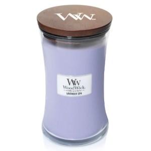 WoodWick Geurkaars Lavender Spa Large