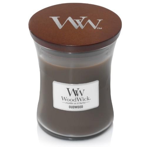 WoodWick Geurkaars Oudwood Medium