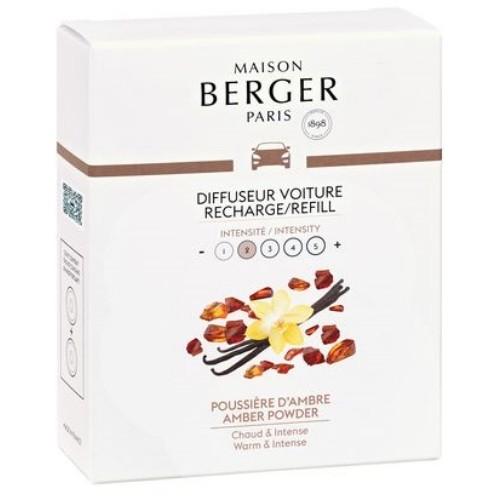 Maison Berger autoparfum navulling Amber Powder