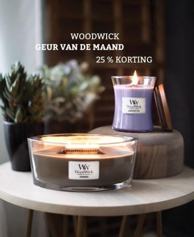 Woodwick geur van de maand januari 2020