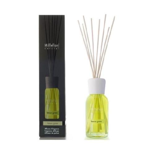 Millefiori Milano Natural Geurstokjes Lemon Grass 250 ml