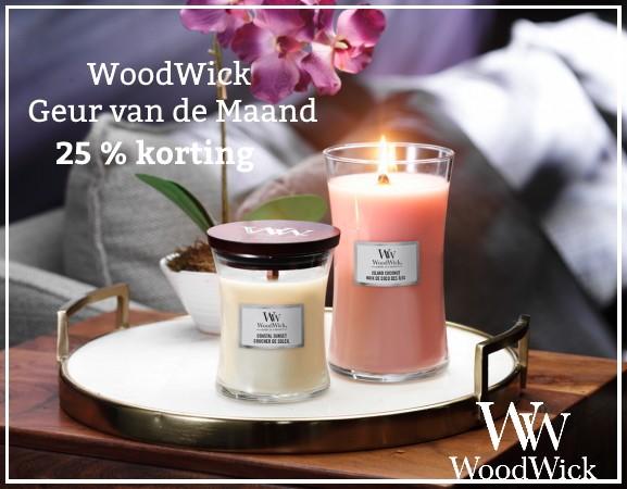 WoodWick Geur van de Maand Juni 2021