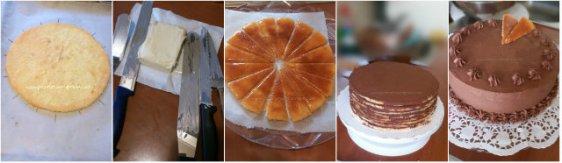 Tort dobos cu crema ganache4