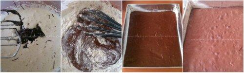 Brownie cu crema de branza cu unt de arahide1