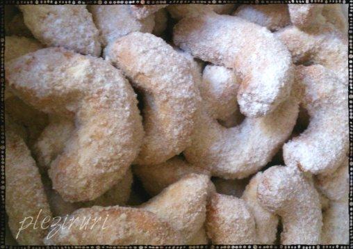 Vanillekipferl Cornulete vanilate