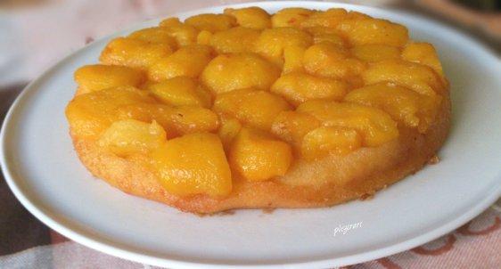 Tort rasturnat cu nectarine