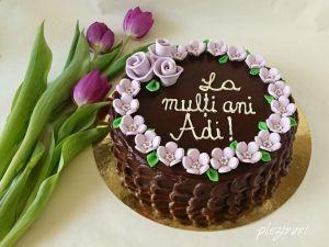 pleziruri Tort cu bezea de alune si ciocolata