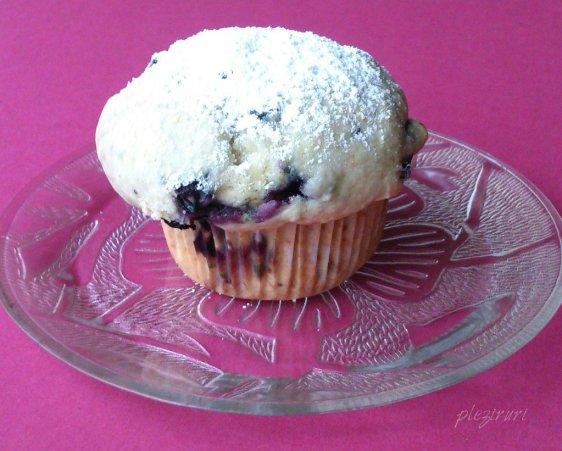 Briose (Muffins) cu afine