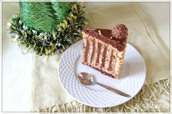 Tort cu kranz si ciocolata