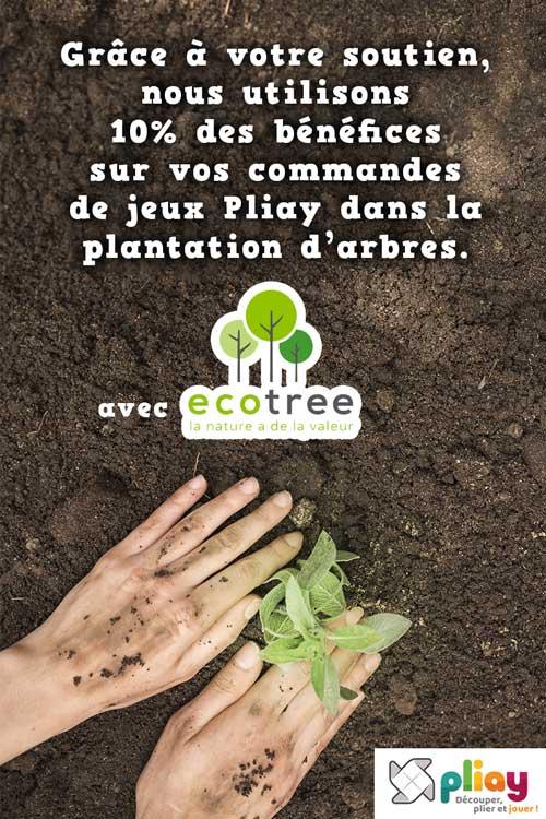 Nous plantons des arbres chez Pliay
