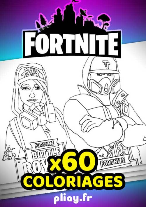 Coloriages Fortnite à imprimer