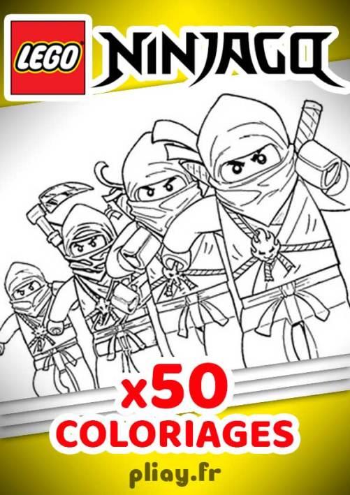 Coloriages NinjaGo à imprimer