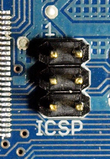 ICSP Pin Schnittstelle des Arduino Mega