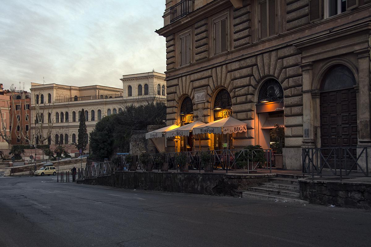 Roma la pas în ziua de Florii