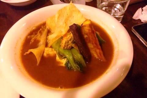 savoy 湯葉と豆腐のカリー