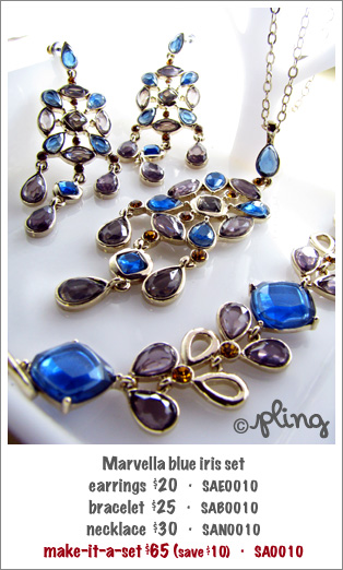 SA0010 - Marvella blue iris set