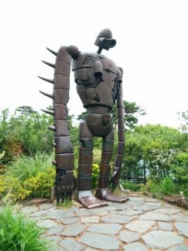 ghibli museum robot laputa