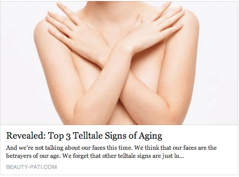 Beauty-Pati - Top 3 Signs of Aging - Neck Hands Breast