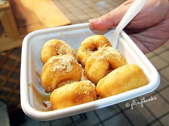 Soy Milk Kinako Donuts - Nishiki Market Kyoto