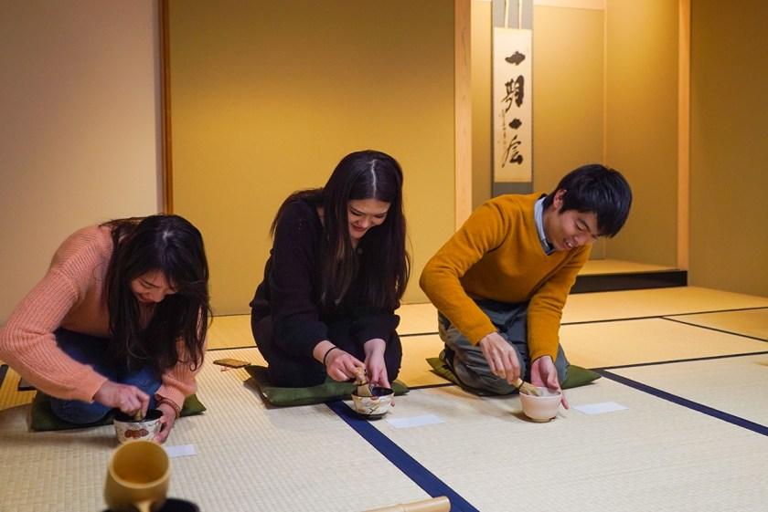 Kiyomizu-dera Tea Ceremony - Kyoto Japan