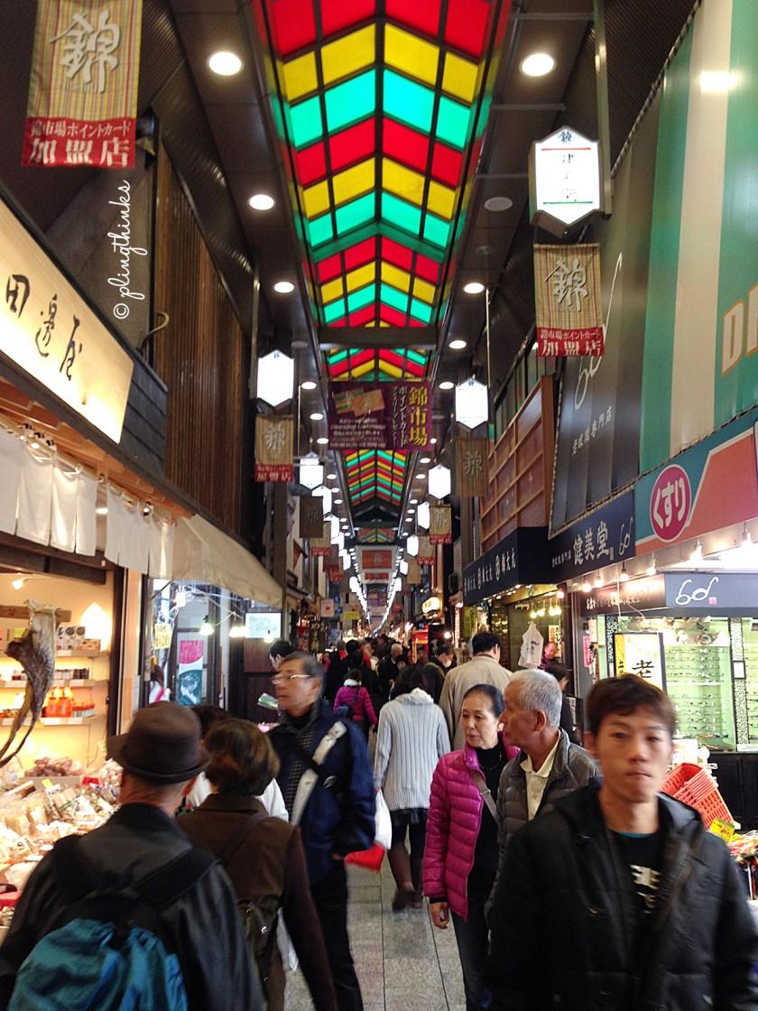 Nishiki Food Market - Kyoto Kitchen Japan