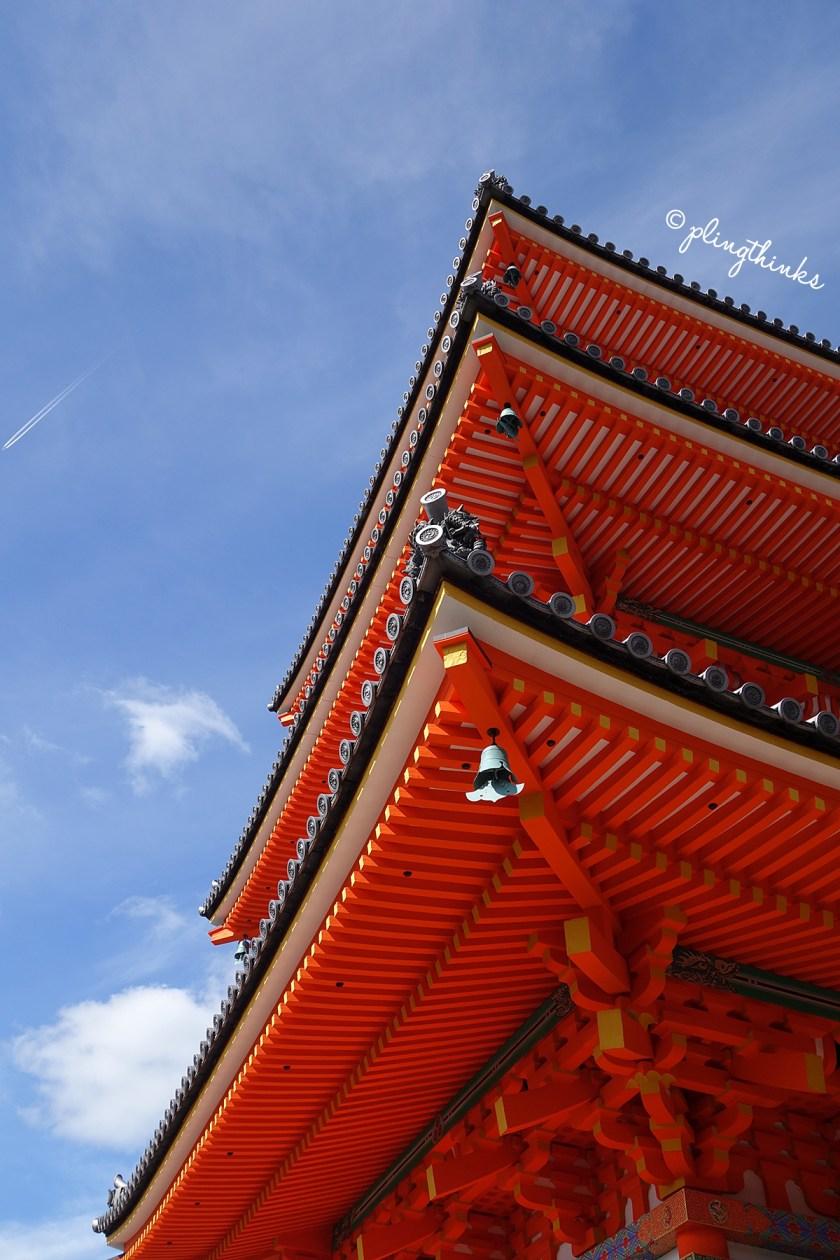 Three Storied Pagoda Kiyomizu - Kyoto