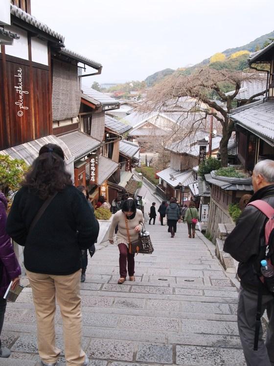 Historical District Higashiyama Kiyomizu - Kyoto Japan