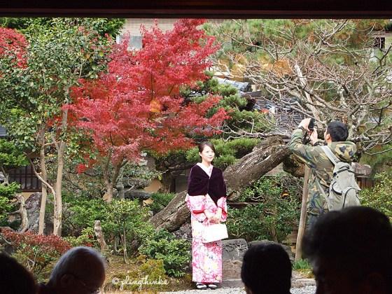 View from inside Inoda Coffee Kiyomizu Branch - Kyoto Cafe